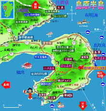島原の地図