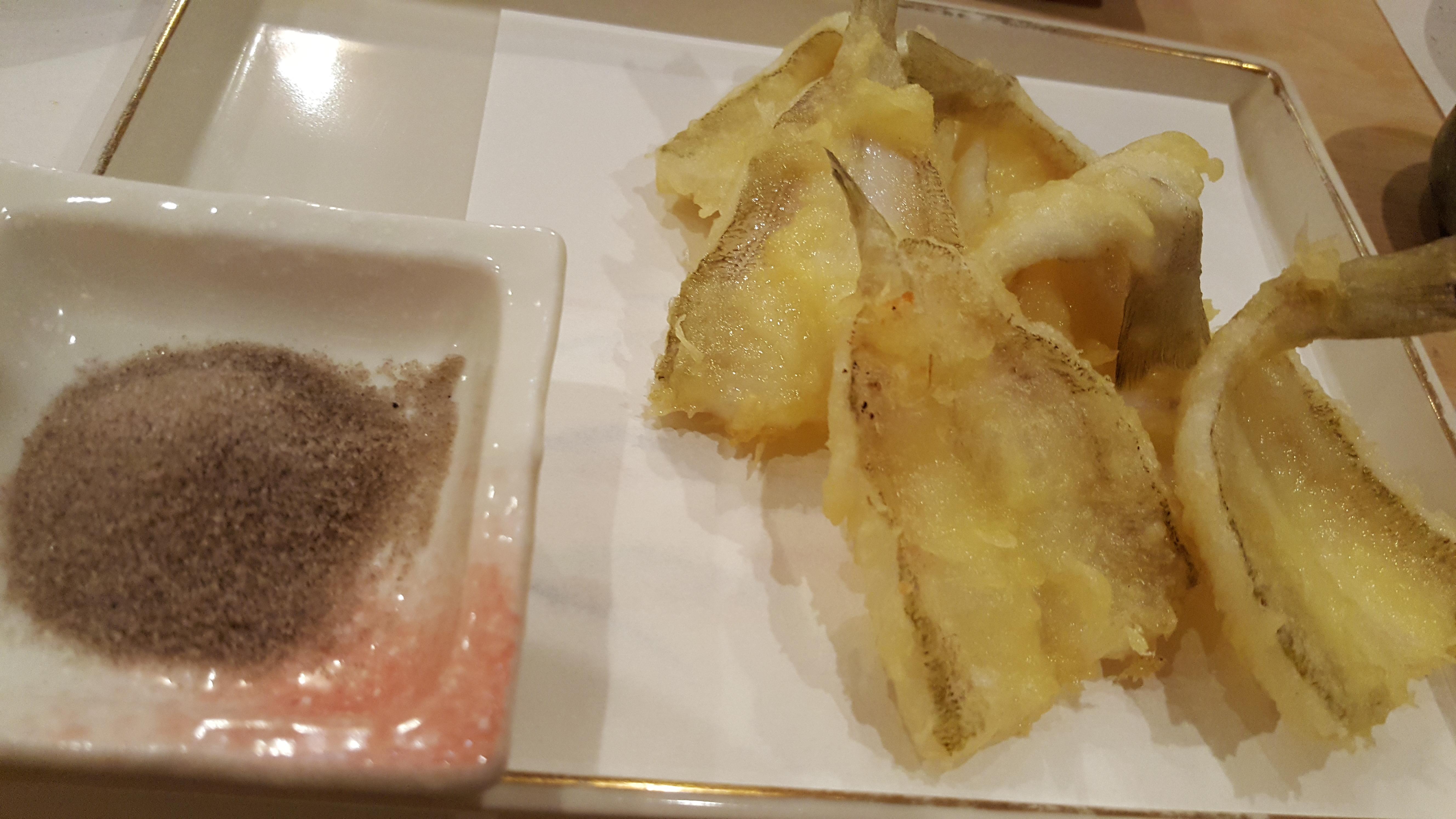 シロギス天ぷら