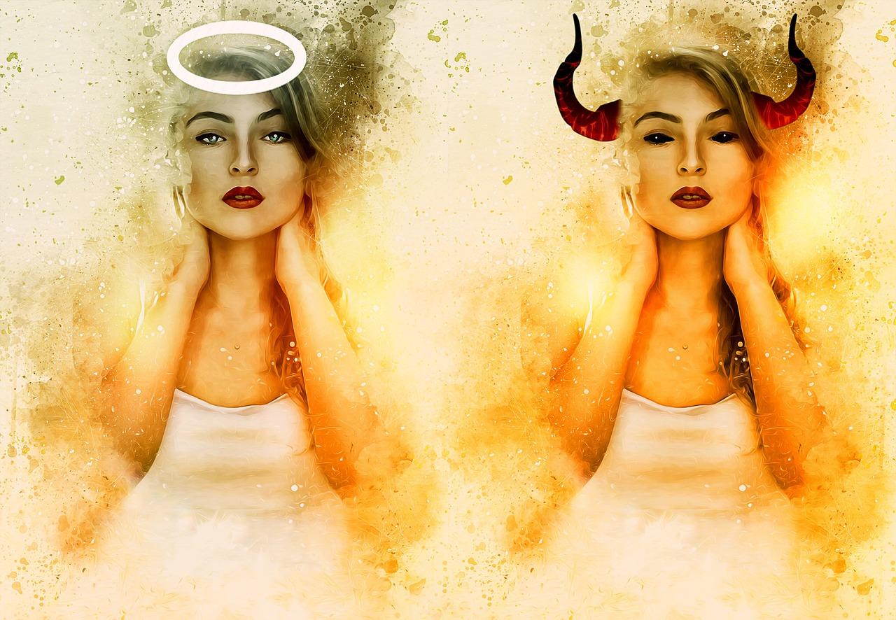 解決方法「あなたの中の天使と悪魔をコントロールしよう!」